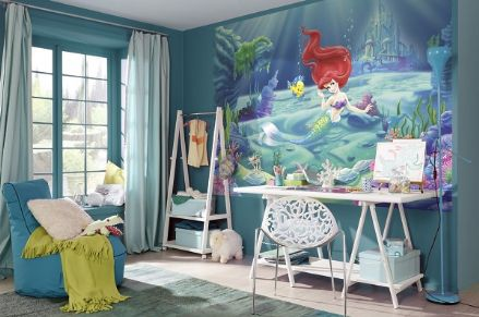 Ariel The Little Mermaid Disney wall mural